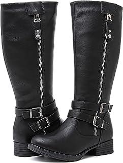GLOBALWIN Women's Knee High Riding Boots