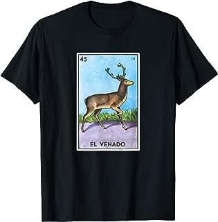El Venado Loteria Shirt Mexican Bingo Deer Tarot Card