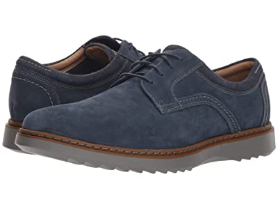 Clarks Un Geo Lace (Navy Nubuck) Men