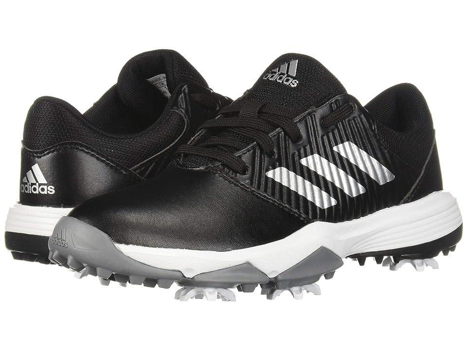 adidas Golf Jr. CP Spiked (Little Kid/Big Kid) (Core Black/Silver Metallic/Footwear White) Men