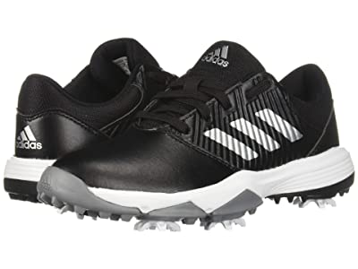 adidas Golf Jr. CP Spiked (Little Kid/Big Kid) (Core Black/Silver Metallic/Footwear White) Men
