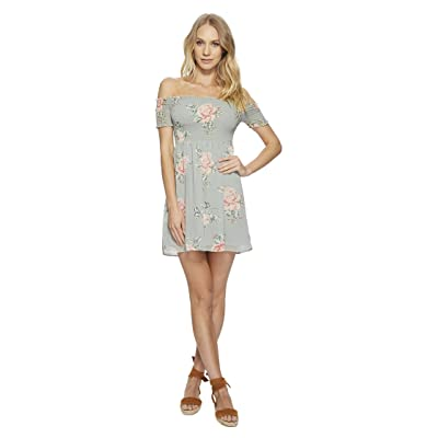 Show Me Your Mumu Dolly Smocked Dress (Sweetheart Sage) Women
