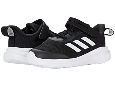 adidas Kids FortaRun EL (Toddler) (Core Black/Footwear White/Core Black) Boys Shoes