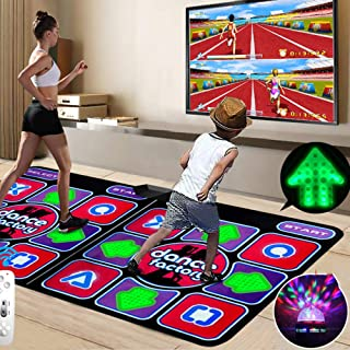 Dance mat LED3D Running Blanket Yoga Game Machine Silicone Massage Learning Machine, HD Quality, Light, for Children