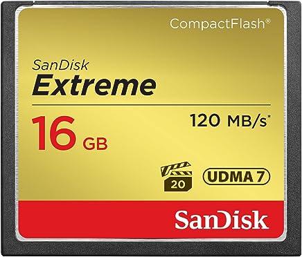 SanDisk Extreme 16GB CompactFlash Memory Card UDMA 7...