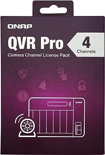 Qnap LIC-SW-QVRPRO-4CH 4 通道许可证(QVR Pro Gold需要)