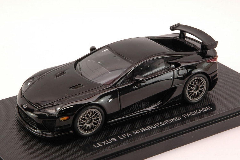 Ebbro EB44639 Lexus LFA ALLESTIMENTO Nurburgring schwarz 1 43 MODELLINO DIE CAST kompatibel mit
