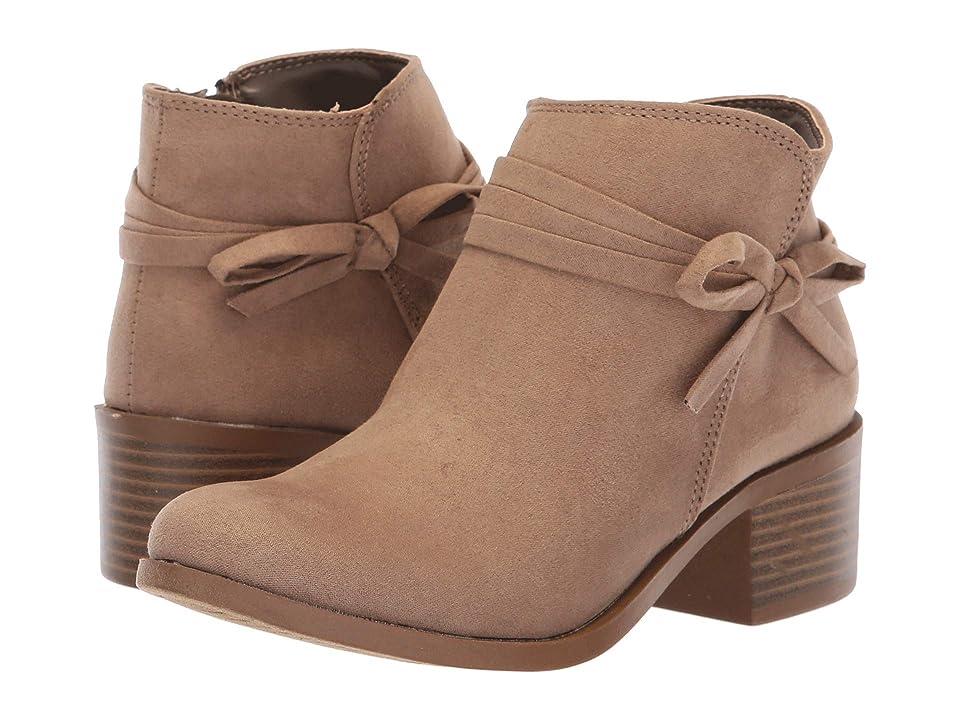 Nine West Kids Cyndees (Little Kid/Big Kid) (Taupe Microfiber) Girls Shoes