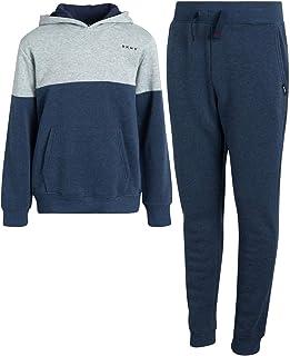 DKNY Boys Jogger Set - 2-Piece Fleece Pullover Hoodie Sweatshirt and Sweatpants
