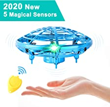 $21 » Flying Toys for Kids Mini UFO Drone Hand Operated Drones with 2 Speed, Flying Ball Drone Easy Indoor Outdoor Toys, Great Flying Drone Gift for Boys/Girls, USB Charging and Remote Controller