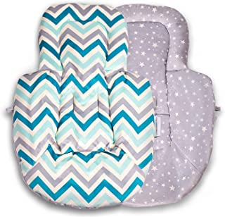 Farnodbaby Infant Newborn Baby Insert Compatible with 4Moms mamaRoo and rockaRoo with Head and Body Support