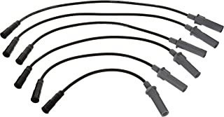 ANGLEWIDE Pack of 6 Spark Plug Wires Compatible with Chrysle-r Pacifica//Town/&Country//Voyager Dodg-e Caravan//Grand Caravan 2001-2009 Vehicles Replacement for 671-6137