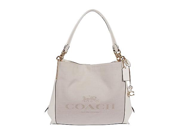 COACH Horse and Carriage Jacquard Dalton 31 Shoulder Bag