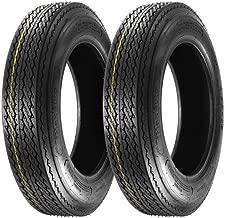Set of 2 MaxAuto 4.80-12 480-12 4.80x12 Boat Trailer Tires 6PR Load Range C