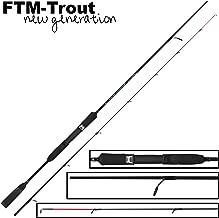 FTM Virus Spoon XP 9 2,06m 0-4,5g Spinnrute Zum Spinnfischen Forellenrute f/ür Spoon Blinker Ultra Light Rute f/ür Forellen