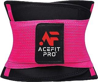 [2020] ACEFIT PRO Waist Trimmer Trainer Belt for Women Men Weight Loss Premium Neoprene Sport Sweat Workout Slimming Body ...