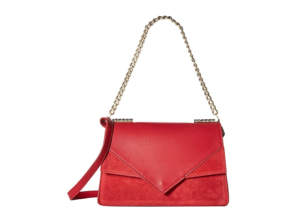 Sam Edelman Devon Shoulder Bag (Red) Handbags