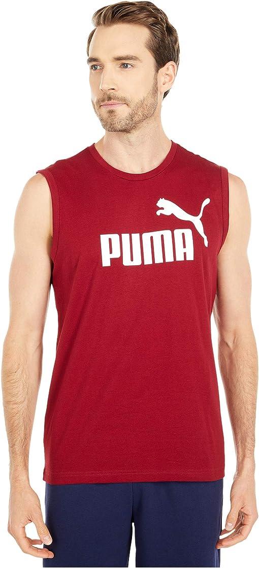 Rhubarb/Puma White