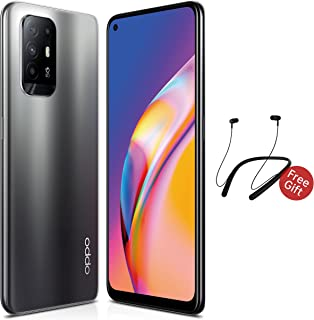 OPPO Reno5 Z 5G Smartphone with Headphone 128GB 8GB RAM, 30W VOOC Flash Charge 48MP AI Quad Camera, NFC, Android Mobile Ph...