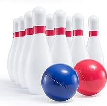 Prextex Kids Size Foam Bowling Set Soft but Sturdy Bowling Set for Kids