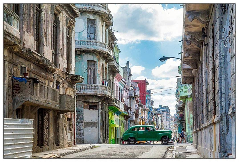 ArtPlaza TW92668 Art Studio-Havana Decorative Panel, 39.5x27.5 Inch, Multicolored