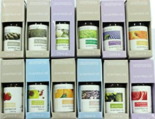 Aromania Scented Essential Oil Multi Pack of 12 Flavours 10ML Each