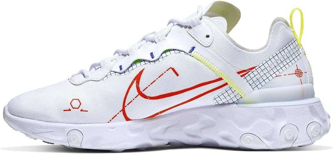 Nike React Element 55, Chaussure de Piste d'athlétisme Homme ...