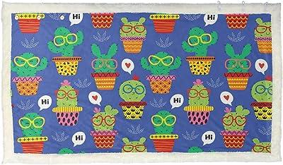 Deny Designs Sharon Turner Matryoshka Candy Polka Fleece Throw Blanket 60 x 80