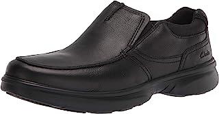 حذاء برادلي فري للرجال من كلاركس, (جلد اسود), 43 EU Wide