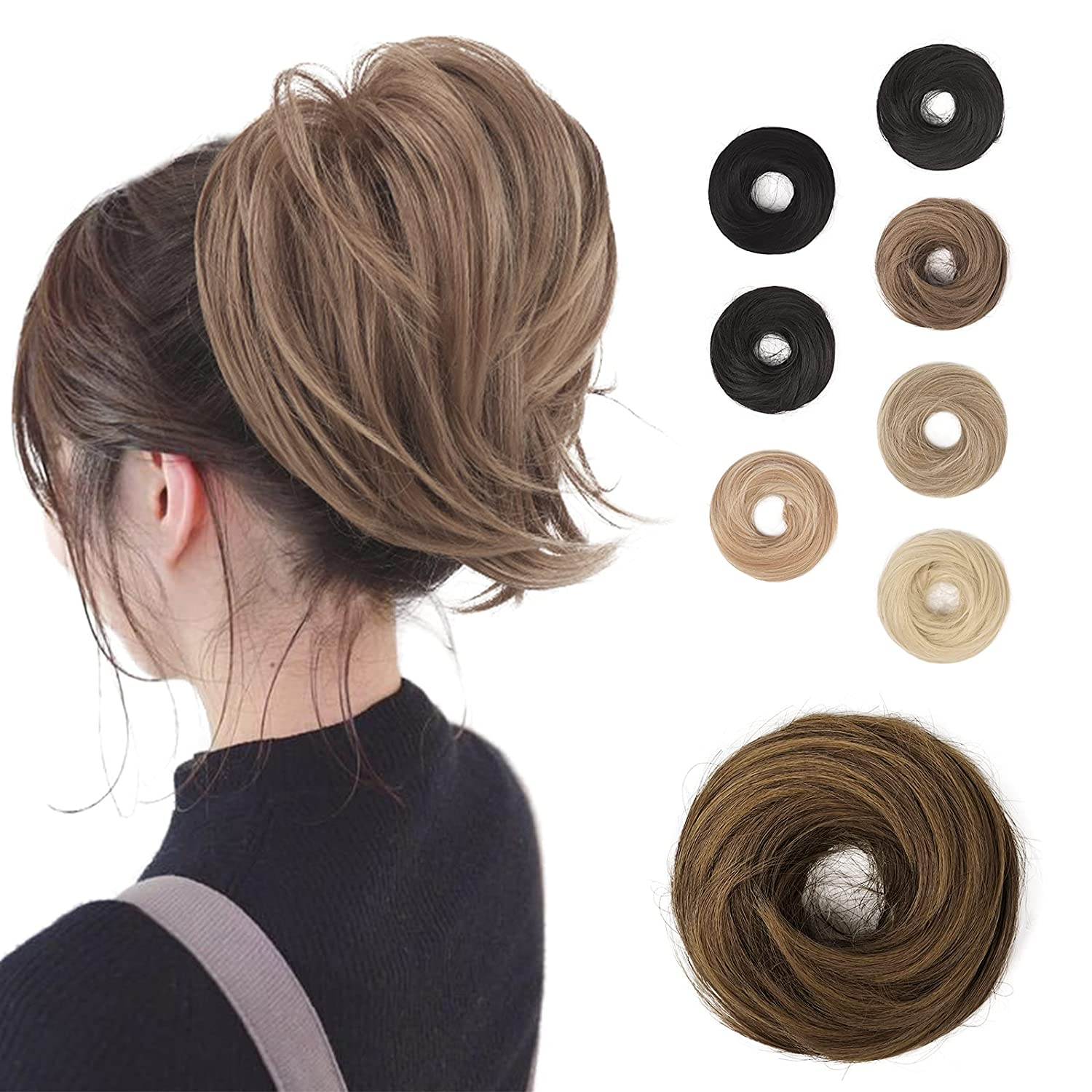 BARSDAR Hair Bun Ponytail Synthetic Extension cheap Hairpiec Straight Ranking TOP1