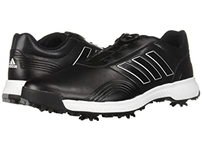 adidas Golf CP Traxion Boa (Core Black/Footwear White/Silver Metallic) Men
