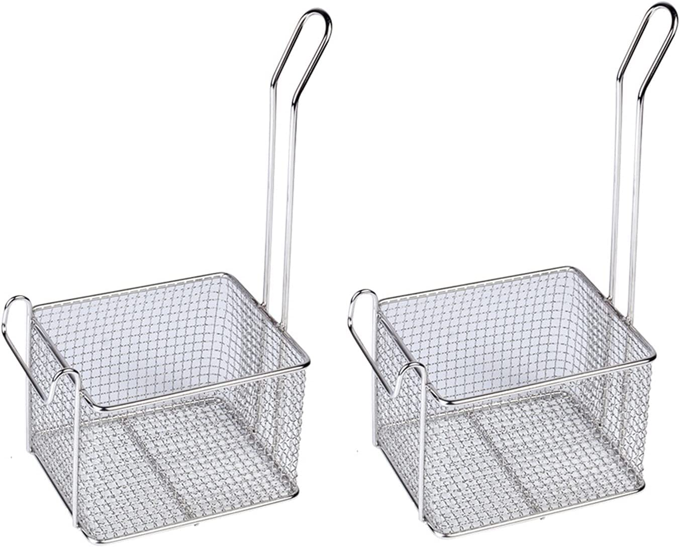 Fried basket It is very popular Stainless Max 50% OFF Steel Large Basket Frying Rectangular Fre
