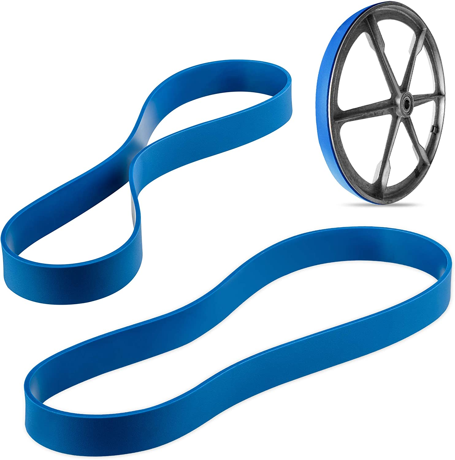 Workmas New Heavy Duty Band Saw Urethane 3 Blue Max Tire Set FOR