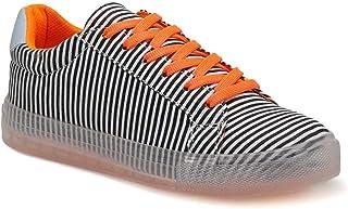 CS20024 Turuncu Kadın Sneaker Ayakkabı