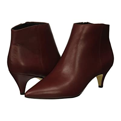 Sam Edelman Kinzey (Beet Red Modena Calf Leather/Dakota Nappa) Women