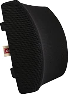 LoveHome Memory Foam Lumbar Support Back Cushion with 3D Mesh Cover Balanced Firmness Designed for Lower