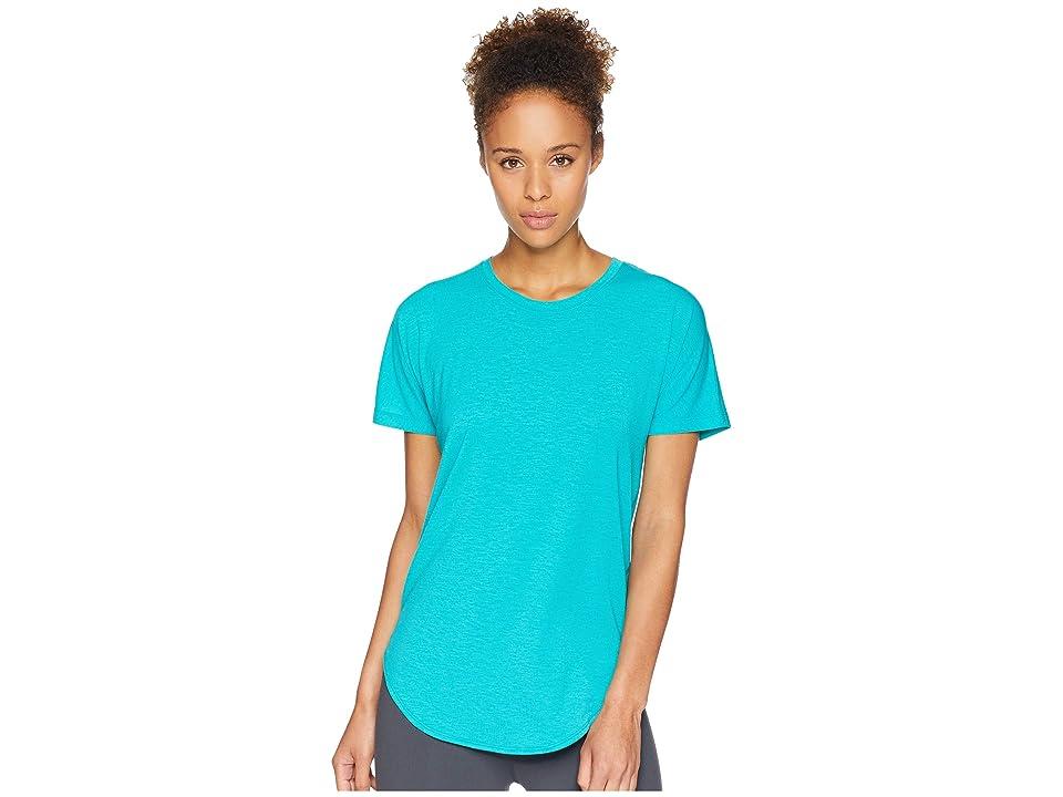 The North Face Workout Short Sleeve Tee (Kokomo Green) Women