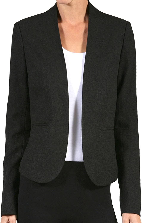 NE PEOPLE Womens Light Weight Classic Linen Office Blazer Jacket