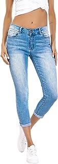 Women's Ripped Boyfriend Jeans Cute Distressed Jeans...