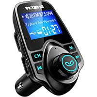 VicTsing Wireless Bluetooth Radio Transmitter Adapter with Hand-Free Calling and 1.44