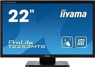 "iiyama Prolite T2253MTS-B1 21.5"" 1920 x 1080pixels Dual-Touch Tabletop Black Touch Screen Monitor"