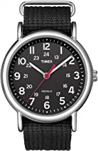 timex weekender face size