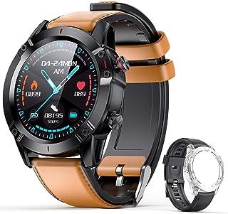 AGPTEK Smartwatch Hombre, Reloj Inteligente de HD Pantalla Táctil Completa Impermeable IP68 con 7 Deportes, Pulsómetro, Mo...