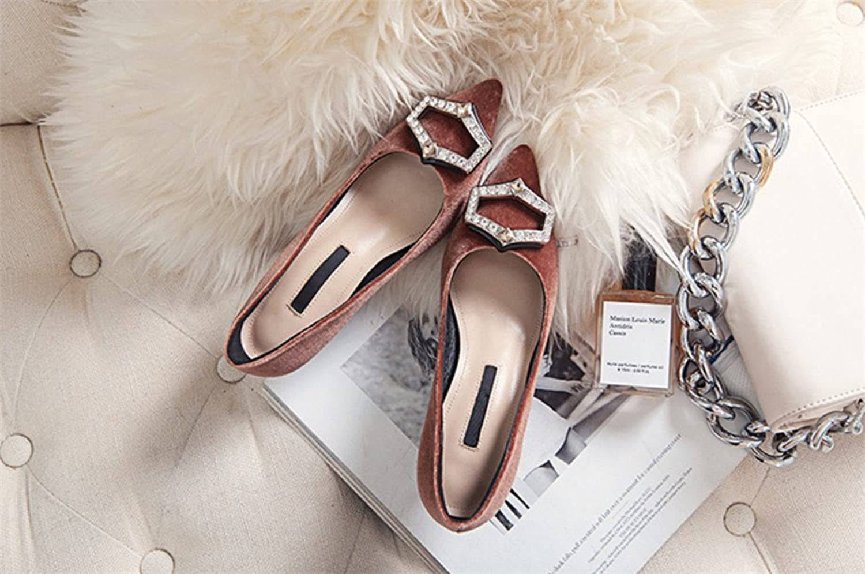 Plus Sized High Heels Rhinestone Sandals Hippie Office Style 4 Seasons Stiletto Heel Rhinestone Oversized shoes for Girl Ladies Bridal Woman,Brown,EU42