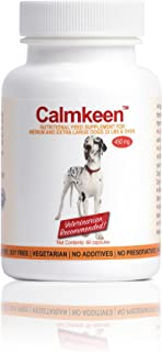 Calmkeen 450 mg 60 Count Nutritional Supplement for Large Dogs 33 Pounds and Up (Formerly Calmkene)