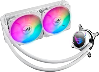 ASUS ROG Strix LC 240 RGB All-In-One Liquid CPU Cooler, White