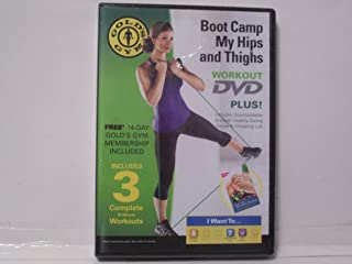 Gold's Gym Boot Camp My Hips and Thighs DVD