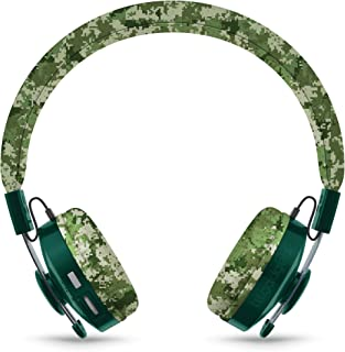 LilGadgets Untangled PRO Kids Premium Wireless Bluetooth Headphones with SharePort and Microphone (Children) - Digital Camo