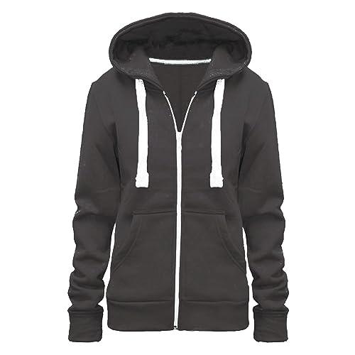 74c8ea855 Plus Size Grey Hoodies: Amazon.co.uk