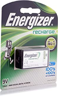 Energizer Rechargeable 9V Nimh 1S Battery